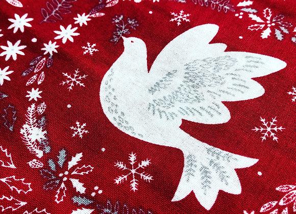 Dove Christmas cotton