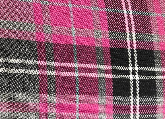 Pink fashion tartan