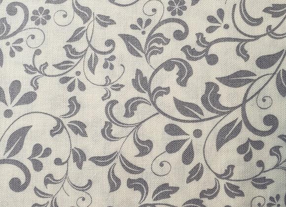 Grey floral cotton mixer 1