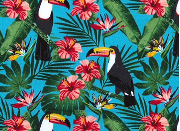 Tropical Toucan cotton