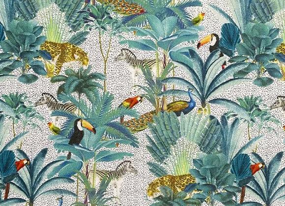 Animal jungle print cotton
