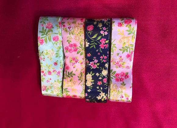 Floral ribbon bundle