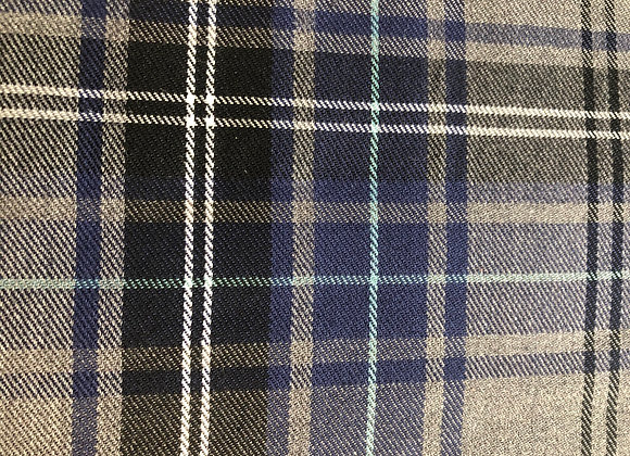 Navy fashion tartan