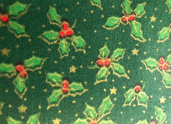Green holly cotton