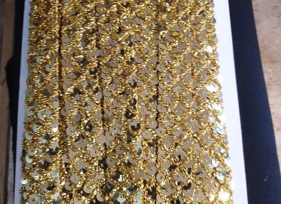 Sequin braid
