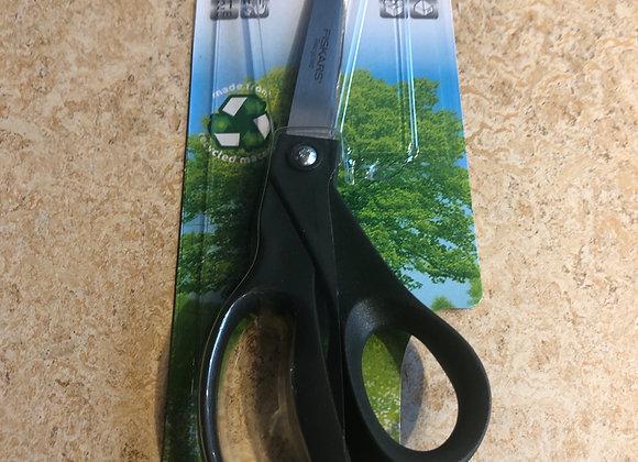 Green universal purpose scissors