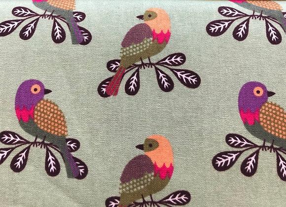 Multi birds cotton