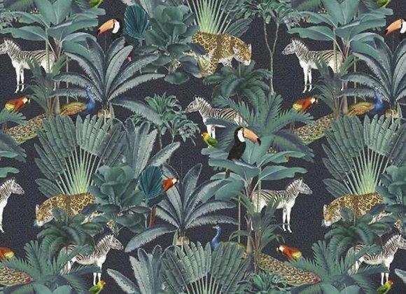 Animal jungle cotton