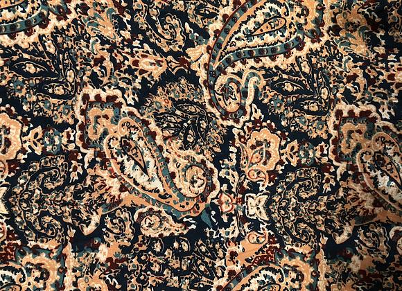 Viscose Paisley print