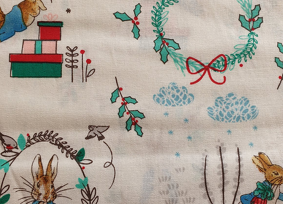 Peter Rabbit Holly Reef cotton