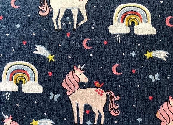 Unicorn cotton fabric