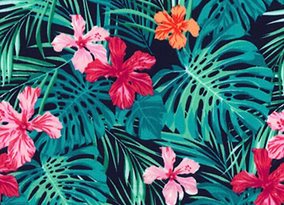Tropical leaf cotton