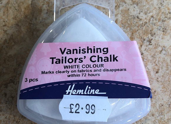 Vanishing tailors chalk