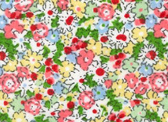 Multi floral cotton