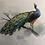 Thumbnail: Peacock linen look
