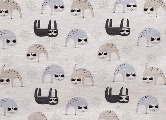 Sloth cotton canvas