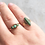 Thumbnail: Vintage gold and turquoise ring