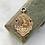 Thumbnail: Vintage 1932 9ct football fob medal