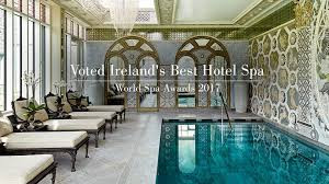 Judging Ireland's top spas.