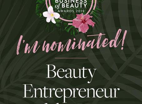 Beauty Entrepreneur Nominee 2019
