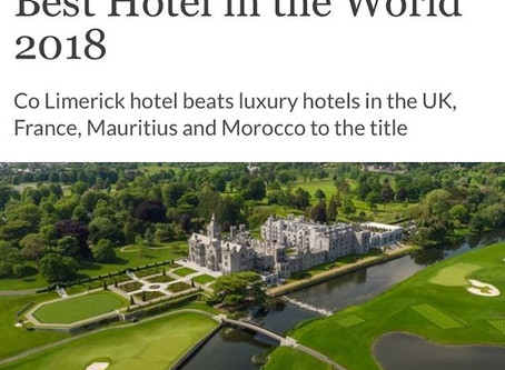 Adare Manor crowned best hotel in the world!