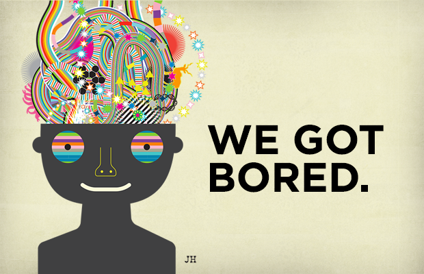 How Boredom Can Lead to Brilliance