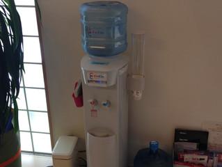 飲料水(アクアクララ)を無料にて設置しております!