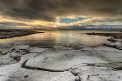 Winter Sunrise, Iceland