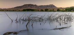 Sunset at Pahranagat Lake, Nevada