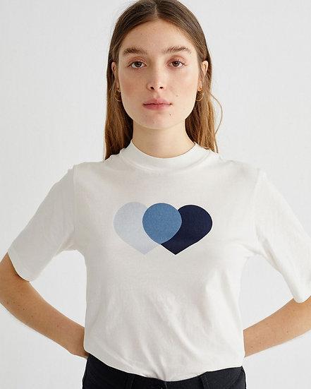 CAMISETA BLUE HEARTS MOCK