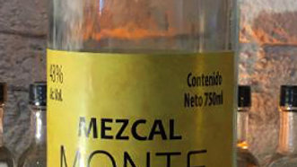 Mezcal Monte Zacate Espadin 750ml