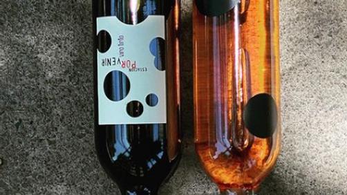 Vinos Estación de Oficios ( dos vinos: rosado y tinto)