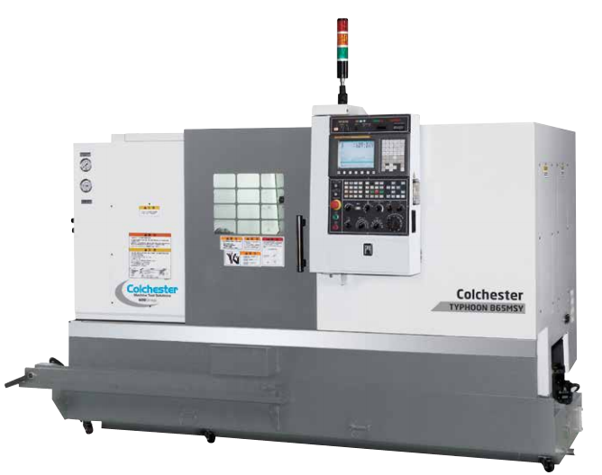 Colchester Typhoon Twin Spindle Series CNC Turning Centres