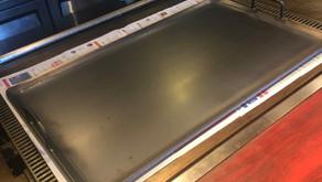 【納品実績:厨房機器】[大阪南森町:お好み焼き店]|ムスリム用の鉄板
