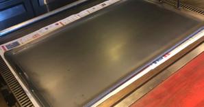 【納品実績:厨房機器】[大阪南森町:お好み焼き店] ムスリム用の鉄板