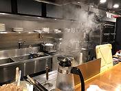 厨房導入事例:CASE3:ラーメン(厨房画像)