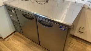 【新品|厨房機器:納品実績】台下冷蔵庫|パナソニック|HBC-6TA3|2017年|幅1200奥行750高さ800|Eテンポ厨房.COM大阪