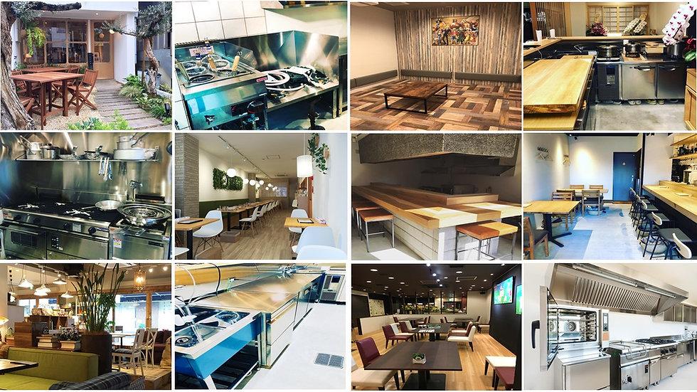 大阪|店舗内装、中古厨房機器