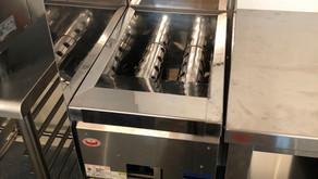 【中古|厨房機器:納品実績】ガスフライヤー|マルゼン|MGFー13J|2015年|幅330奥行600高さ800|Eテンポ厨房.COM大阪