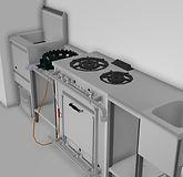 厨房導入事例(加熱機器)