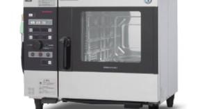 【納品実績:厨房機器】[現場:大阪阿倍野:カフェ店] 業務用・中古 電気スチームコンベクション ホシザキ MIC-5TB 年式:2013年 幅750×奥行560×高さ685