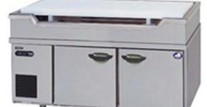 【納品実績:厨房機器】[現場:大阪京橋:居酒屋] 業務用・中古 年式2009年 メーカー:パナソニック(SUR-GL1261S-S) 幅1200×奥行600×高さ800