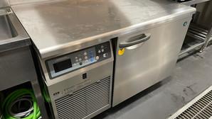 【中古|厨房機器:納品実績】ブラストチラー|ホシザキ|HBC-6TA3|2017年|幅1200奥行750高さ800|Eテンポ厨房.COM大阪