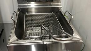 【中古|厨房機器:納品実績】卓上電気フライヤー|タニコー|TCFL-8B|2018年|幅265奥行405高さ190|Eテンポ厨房.COM大阪