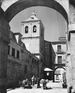 Church Tower through main gate