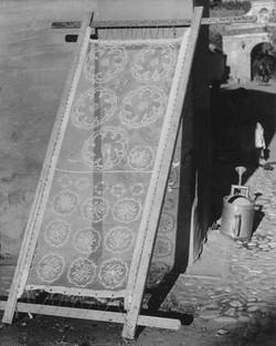 The drying Mantillas