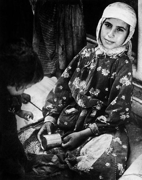 GIRL WITH A PANNIKIN / MAŞRAPALI KIZ, Anatolia, Turkey 1955