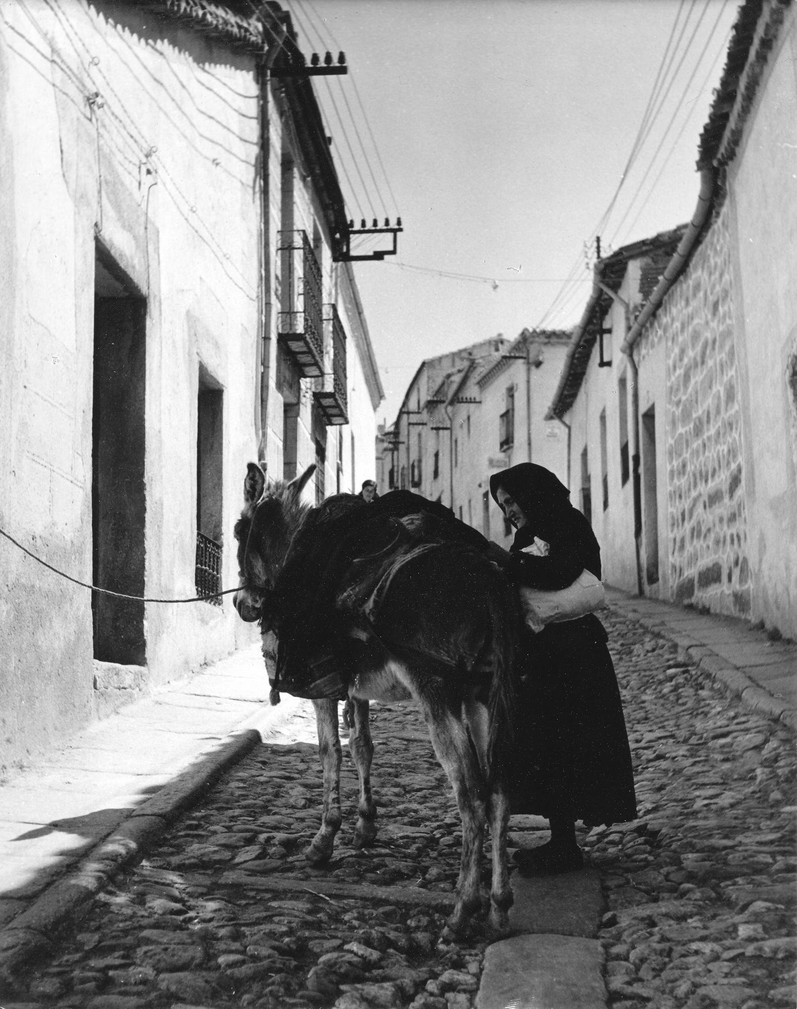 Donkey & Woman-Avila-Spain.jpg