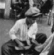 SHOESHINE BOY / AYAKKABI BOYACISI, Anatolia, Turkey 1955