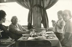 Yıldız Moran with her family 1974